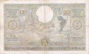 100 francs - 20 Belgas Type 1933 Recto français – revers