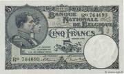 5 Francs – avers