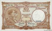 20 Francs Type 1948 – avers