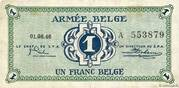 1 Franc (Army Issue) – avers