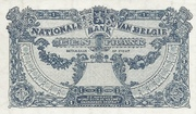 1 Franc Type 1920 – revers