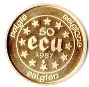 50 écus Charles-Quint – revers