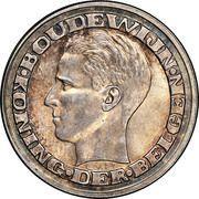 50 francs - Baudouin - Expo 1958 (en néerlandais) – avers