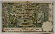 50 Francs ou 10 Belgas – avers