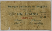 1 franc Comptes courants – avers