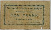 1 franc Comptes courants – revers