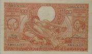 100 francs - 20 belgas Type 1933 Orange - Recto en français – avers