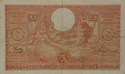 100 francs - 20 belgas Type 1933 Orange - Recto en français – revers