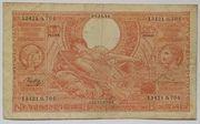 100 francs - 20 belgas Type 1933 Orange - Recto en néerlandais – avers