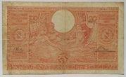 100 francs - 20 belgas Type 1933 Orange - Recto en néerlandais – revers