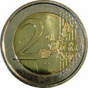 2 euros Atomium -  revers