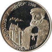500 francs - Albert II (Charles Quint) – avers