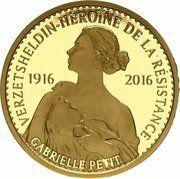 100 euros Gabrielle Petit – revers