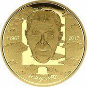 100 euros René Magritte – revers