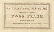 2 Francs (Comptes courants) – revers