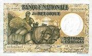 50 Francs / 10 Belgas – avers