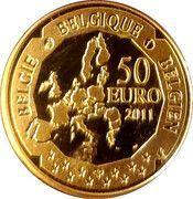 50 euros Auguste Picard -  avers