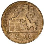 20 francs - Prince Charles - type Mercure (en français) -  avers