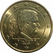 50 cents d'euro Philippe -  avers