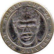 Jeton World Cup'94 Luis Oliveira – avers