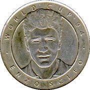 Jeton World Cup'94 Enzo Scifo – avers