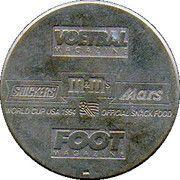 Jeton World Cup'94 Enzo Scifo – revers