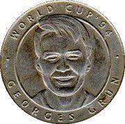 Jeton World Cup'94 Georges Grün – avers