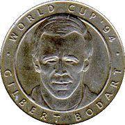 Jeton World Cup'94 Gilbert Bodart – avers