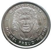 Jeton world cup'94 Michel Preud'homme – avers