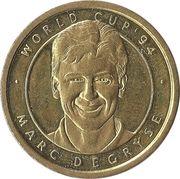 Jeton World cup '94 - Marc Degryse – avers