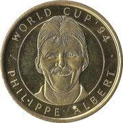 Jeton World cup '94 - Philippe Albert – avers