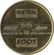 Jeton World cup '94 - Alex Czerniatynski – revers