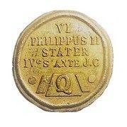 """Jeton cadeau publicitaire """"Restaurant Quick GB"""" - (VI - Philippus II Stater) – revers"""