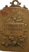 Jeton Belgique jeton publicitaire Le Soir, Tournoi de l'Espérance 1959 – revers