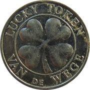 Lucky token Van de Wege (without stars) – revers