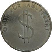 Pusher token (Brabo-Harry Levy) – revers