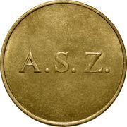Token - A. S. Z. – avers