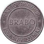 Amusement Token - Brabo – avers
