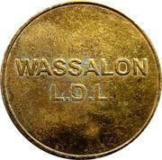 Jeton de laverie - Wassalon  L.D.L. (10K) – avers