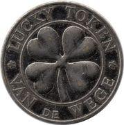 Lucky token Van de Wege (with stars) – avers