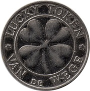 Lucky token Van de Wege (with stars) – revers