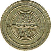 Jeton de lavage automobile - All Automatic Wash – avers