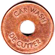 Jeton de lavage automobile - De Cuyper – avers