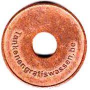 Jeton de lavage automobile - De Cuyper – revers