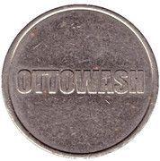 Jeton de lavage automobile - Ottowash – avers