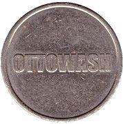 Jeton de lavage automobile - Ottowash – revers
