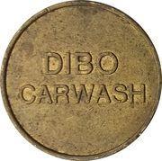 Jeton de lavage automobile - Dibo (Laiton) – avers
