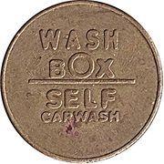 Jeton de lavage automobile - Wash Box – avers