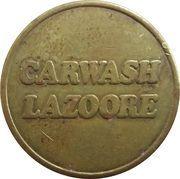 Jeton de lavage automobile - Carwash Lazoore (Nieuwpoort) – avers