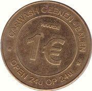 1 euro - Drinkhal Geenen (Balen) – avers